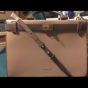 Michael Kors Tatiana Medium Leather Satchel